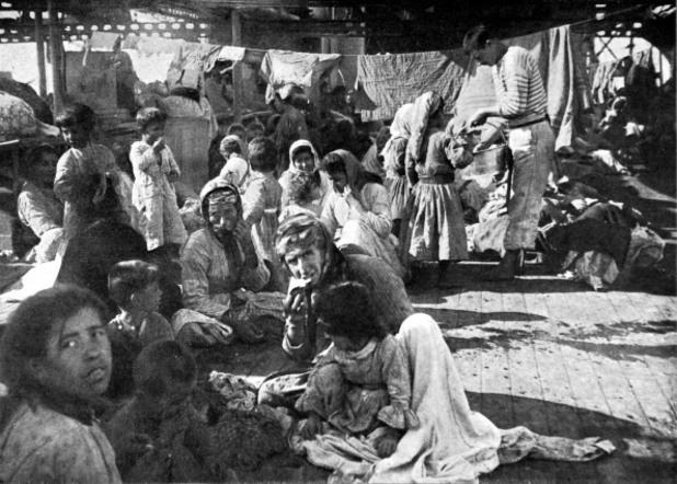 депортирани арменци от османската империя