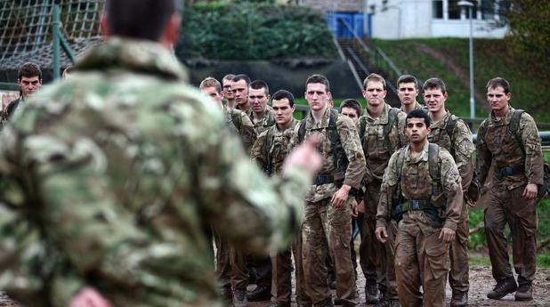 Британски военни