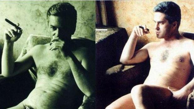 Волен Сидеров с гола фотосесия за списание