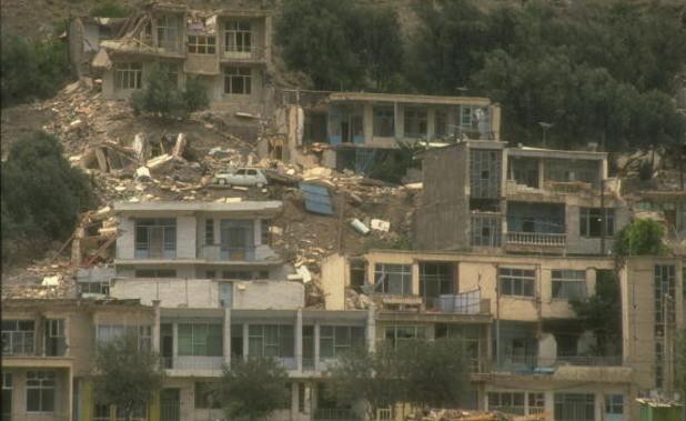 земетресение в иран 1990