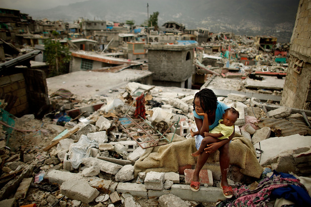 Земетресение в Хаити