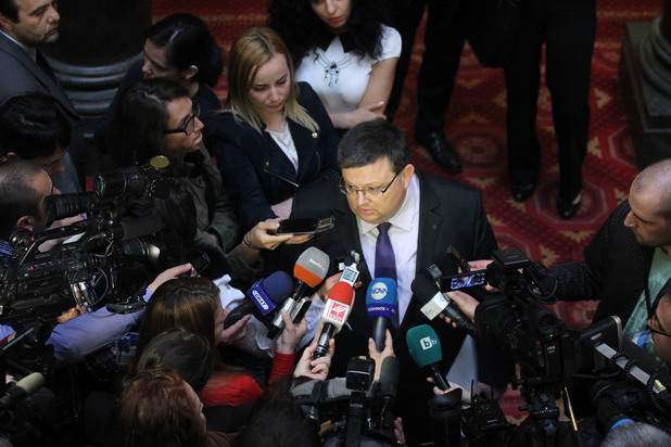главният прокурор сотир цацаров в народното събрание