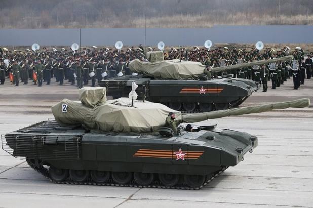 Новият руски танк Т-14 с премиера в Москва