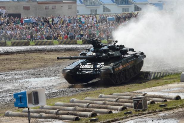 руският танк т 90