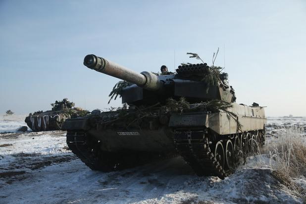 германският танк леопард 2