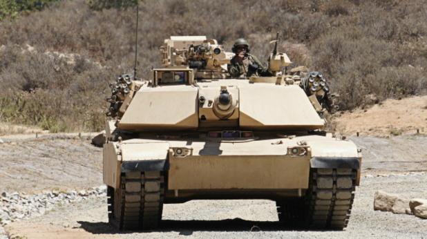 американският танк ейбрамс