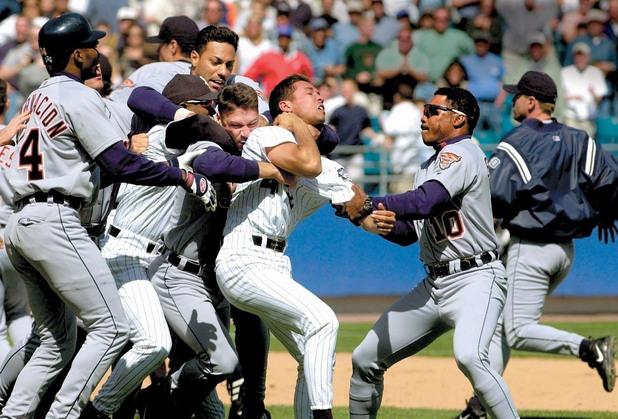 Бейзбол, сбивания