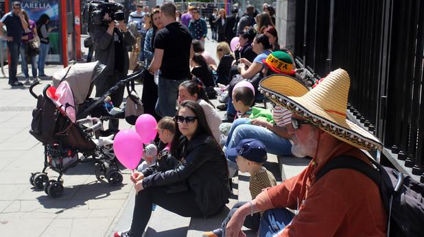 """протест за максимално наказание на акушерката от """"софиямед"""""""