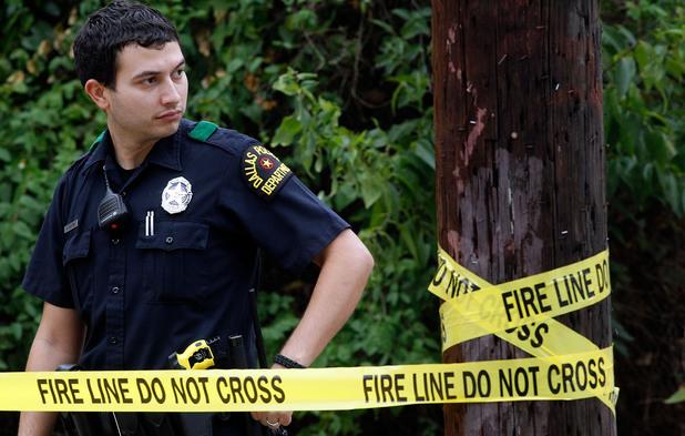 Полицай в Далас