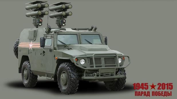 """Самоходен противотанков ракетен комплекс """"Корнет-Д1"""""""