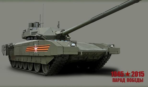 "новият руски танк Т-14 ""Армата"""