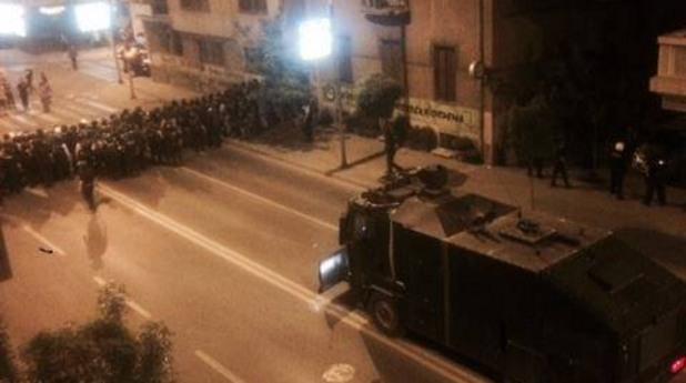 Антиправителствени протести в Македония доведоха до сблъсъци с полицията