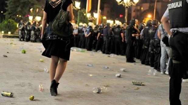 Протести в Скопие