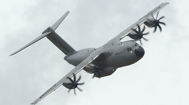 Airbus A400M се разби край летището на Севиля