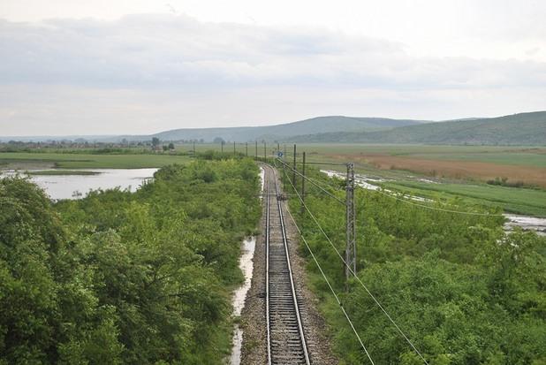 наводнение по жп линията русе - велико търново