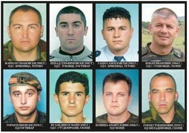 8 полицаи загинаха при операцията в куманово