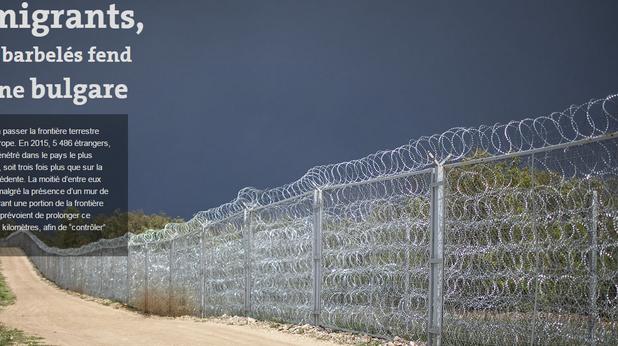 монд - бежанци - граница - ограда