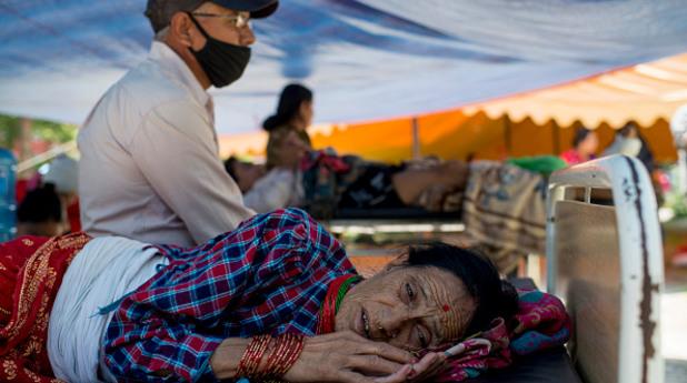 непал - трус - земетресение