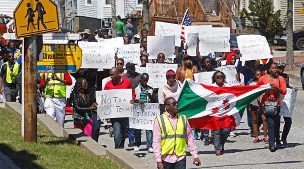 бурунди, протест