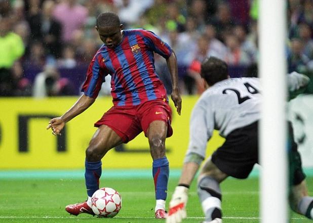 Самуел Етоо, Барселона срещу Арсенал, финал Шампионска лига 2006