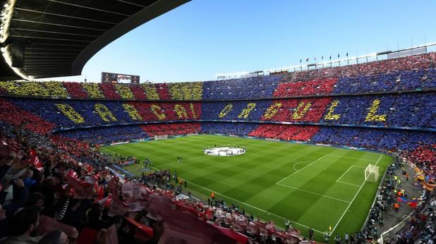 пълен стадион преди мач с байерн в шл 2015