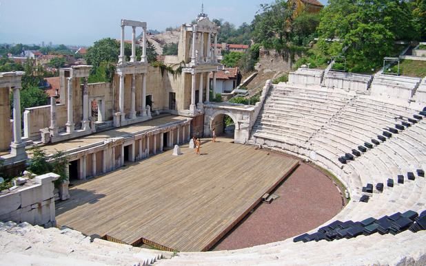 античният театър в пловдив