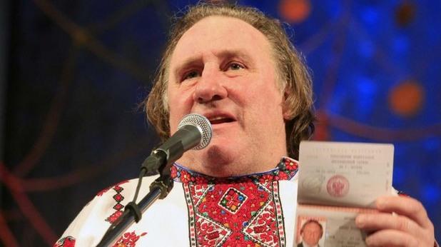 жерар депардийо в руска рубашка