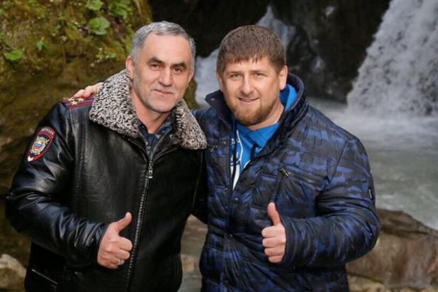 Нажуд Гучигов и Рамзан Кадиров
