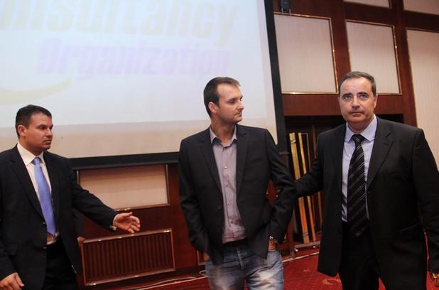 Пропуск на охраната на Бойко Борисов