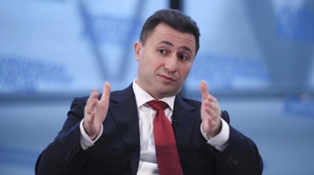 Никола Груевски отвърна на протеста с протест