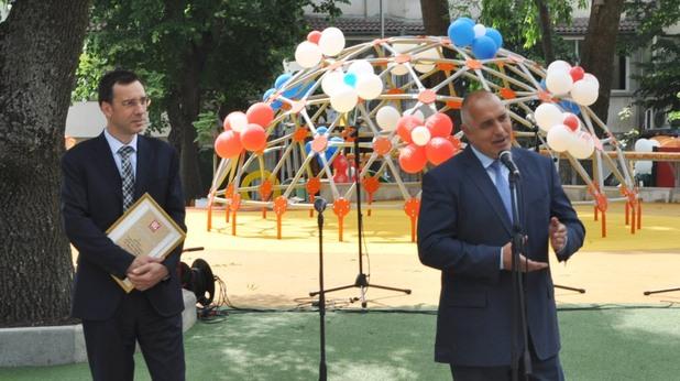 бойко борисов обяви кандидатурата на димитър николов за трети мандат като кмет на бургас