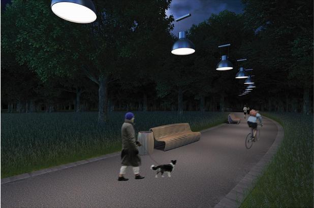 """Проект 7, парк """"Борисова градина"""""""