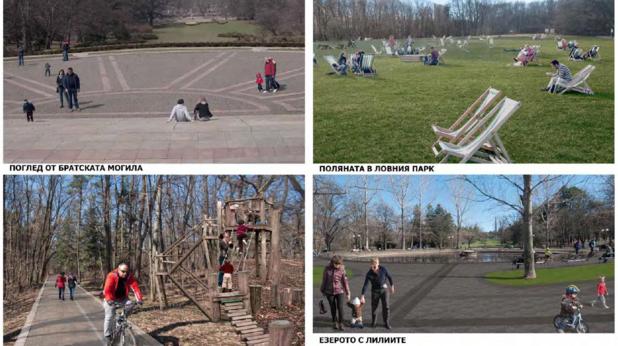 Проект 2, Cityarch за преустройство на Борисова градина