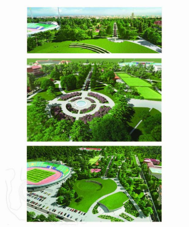 Проект 4, Ковачев архитекти за преустройство на Борисова градина