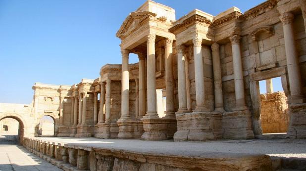 Град Палмира в Сирия