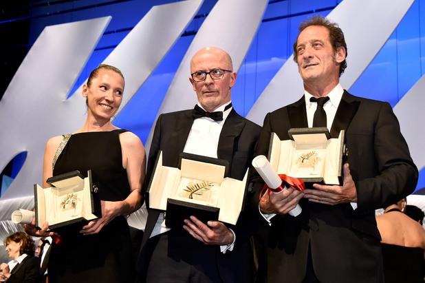 еманюел берсо, жак одиар, венсан линдон с награди на 68-то издание на фестивала в кан