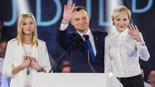 Новият президент на Полша Анджей Дуда