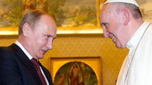 путин и папата