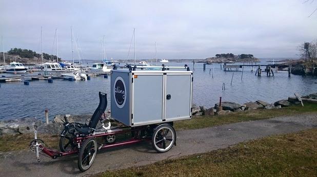 Cargo bike: Velove Armadillo