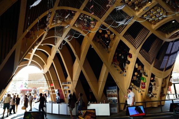 експо 2015: френският павилион