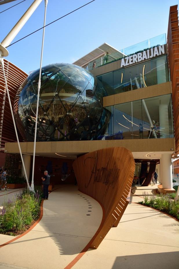 експо 2015: павилионът на азербайджан