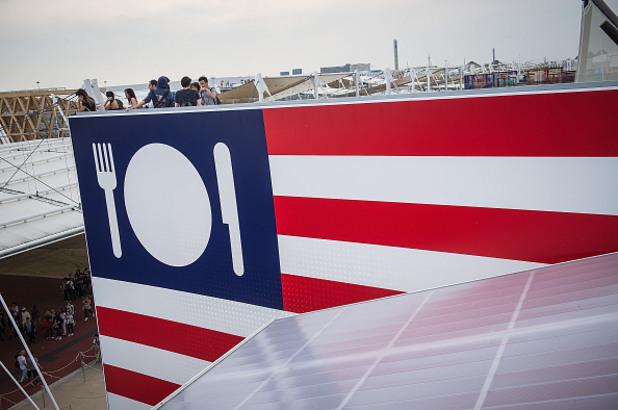 американският павилион на експо 2015