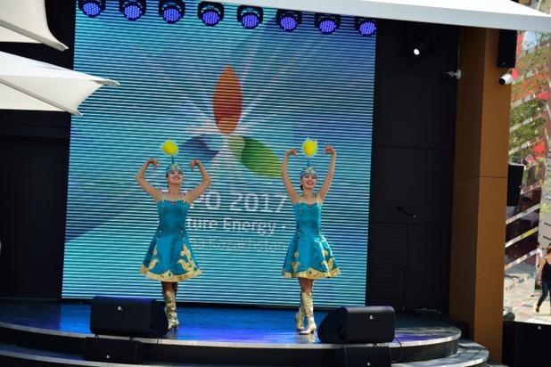 експо 2015: презентацията на казахстан