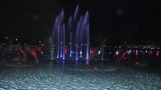 Пеещите фонтани в Пловдив