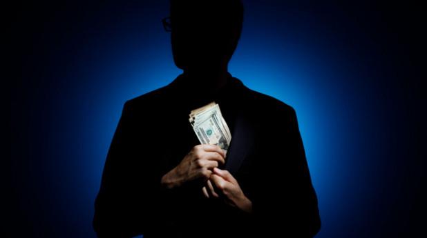 подкуп, рушвет, корупция, пари, долари