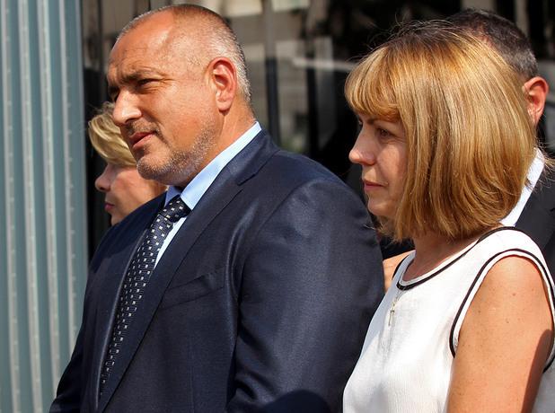 бойко борисов и йорданка фандъкова