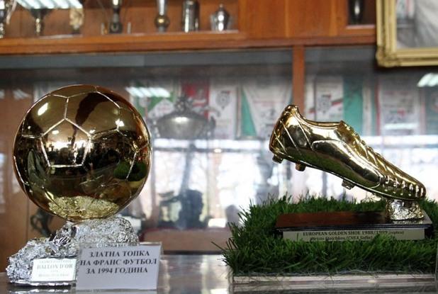 Златна топка и Златна обувка на Стоичков