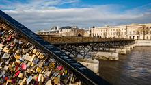 Моста на влюбените в Париж