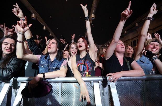 Почитатели на хеви метъл
