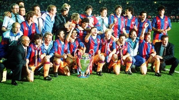 Барселона шампион ШЛ 1992 г.